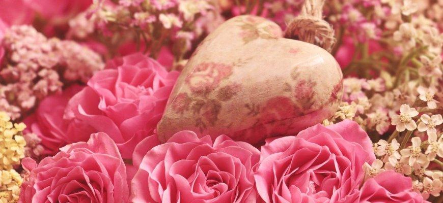 Kwiaty na walentynki
